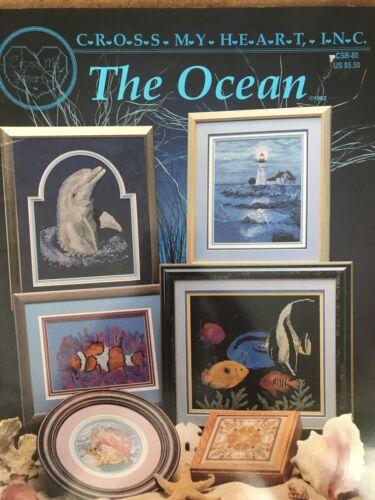 Cross My Heart el océano libro de puntada cruzada