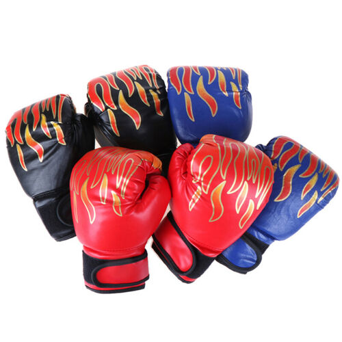 Boxhandschuhe Kinder Junior Jugend Sparring Training Kick BoxhandschFT