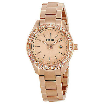 Fossil Stella Mini Rose Gold-tone Stainless Steel Ladies Watch ES3196
