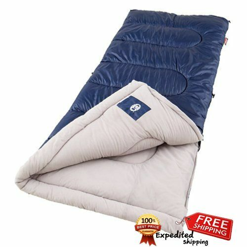 Cold Sleeping Bag Coleman Brazos Winter Weather  Body Sleep Warm Camping Bedding  hot sale online