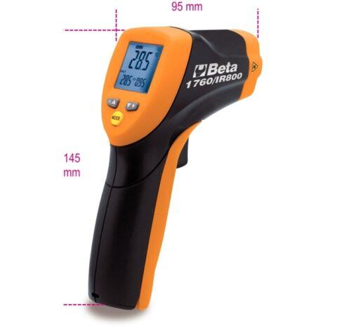 Beta TOOLS 1760//Ir800 Digital Termómetro de infrarrojos con sistema de puntería láser de doble