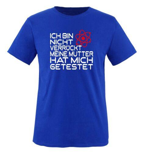Mi hai interrotto shirts-Big Bang Theory-T-shirt da uomoSheldon Leonard Penny