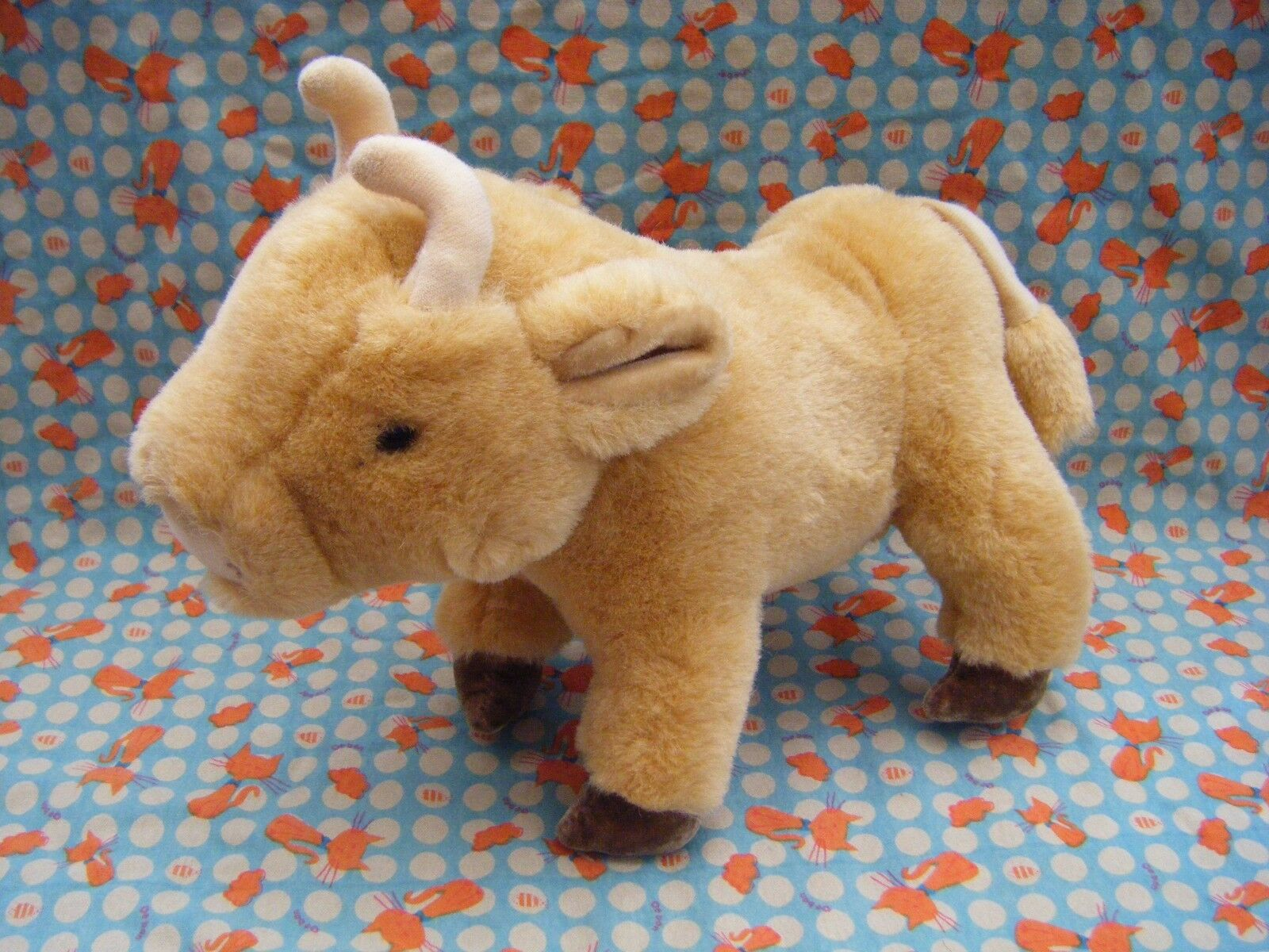 MERRYTHOUGHT DAISY FROM JERSEY COW SOFT TOY 10  LONG X 8.5 TALL APPROX