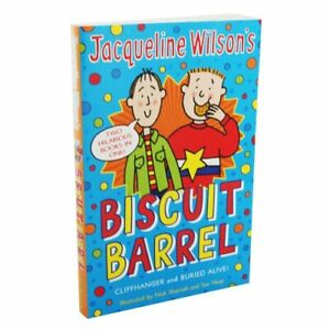 Biscuit-Barrel-Cliffhanger-and-Buried-Alive-By-Jacqueline-Wilson