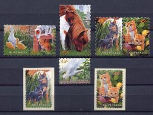40415) Australia 1996 MNH Domestic Animals 6v +2v S-A