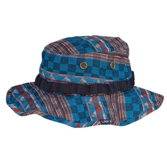 BRAND NEW LRG Brand Research Bambara Boonie Hat Safari Blue ONE SIZE Adult   49 9e8852a1769