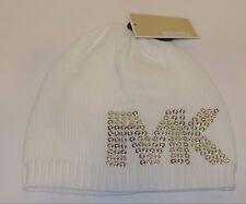 Michael Kors MK 536215 Cream F14 RARE Knit Beanie Hat Skull Cap Winter  Womens 89a8af3f05
