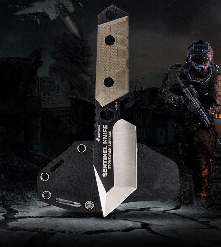 Sentinel Army Survival Outdoormesser Überleben Camper Buschmesser EDC