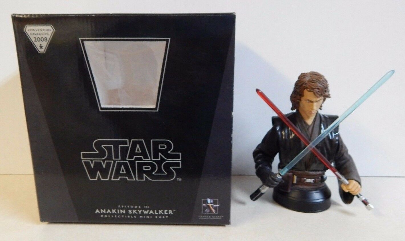 Gentle Giant Star Wars Bust Anakin Skywalker Convention Exclusive SDCC 3066 3500
