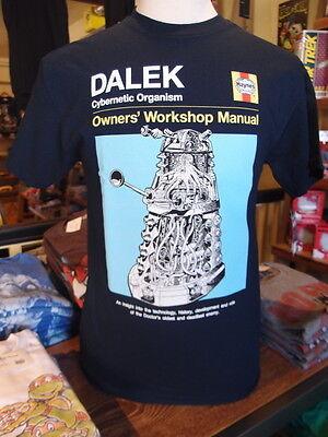 Dr Who Dalek Haynes Manual Men's T-shirt
