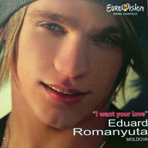 2021 Eurovision - Moldova 2015. I Want Your Love - Eduard Romanyuta. (Promo CDs