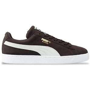 Details about Puma Suede Classic Trainers - Puma suede classic in  Mole/White - 365347 39