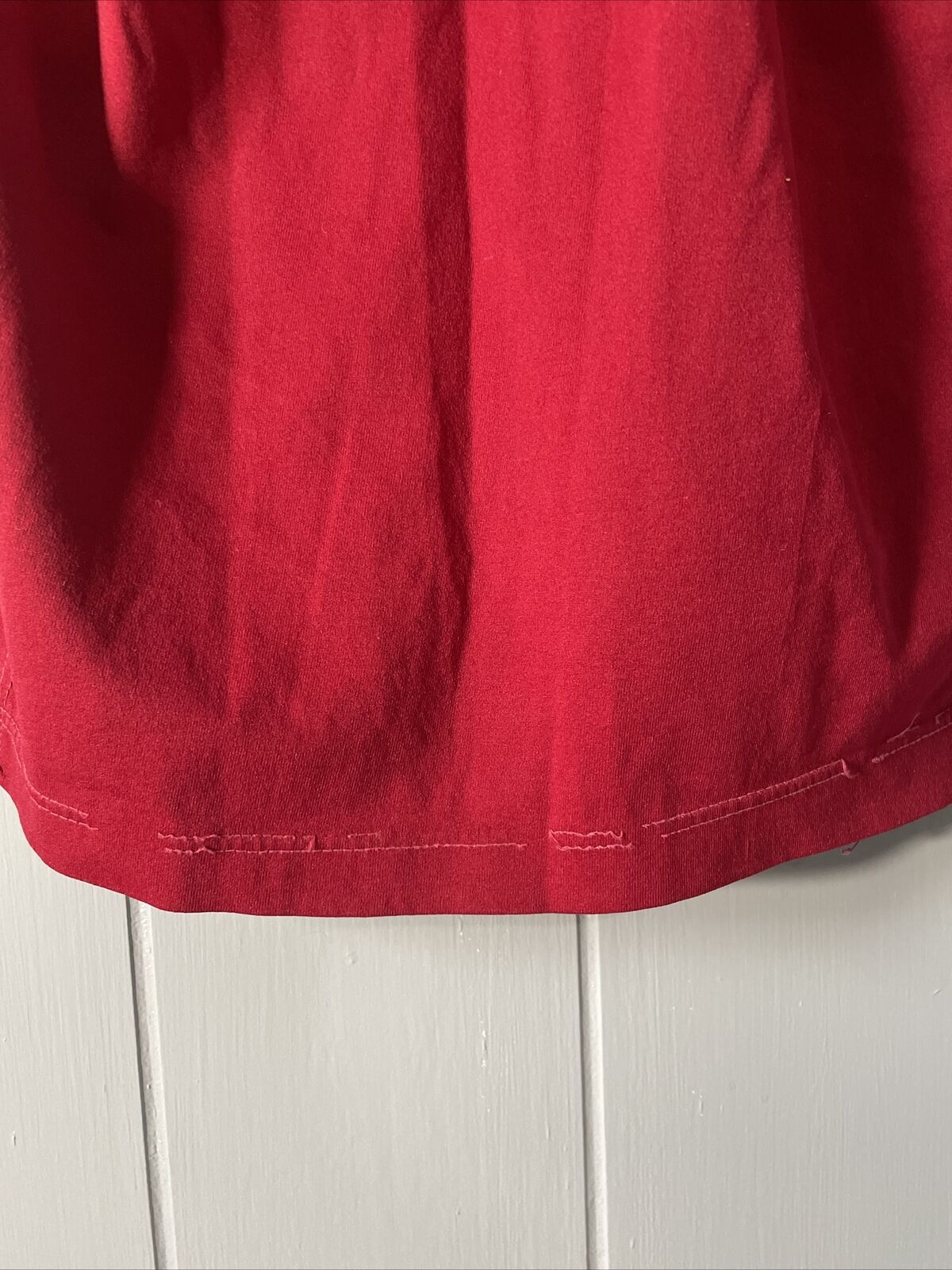 VTG 70's Russell Athletic Red Football Jersey #21… - image 12