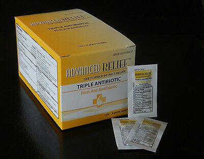 Triple Antibiotic Ointment Box of 144  Packets (On Sale Now While Supplies last)