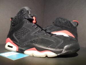 b8970b99b71d08 2009 Nike Air Jordan VI 6 Retro BLACK VARSITY RED BRED WHITE OG ...