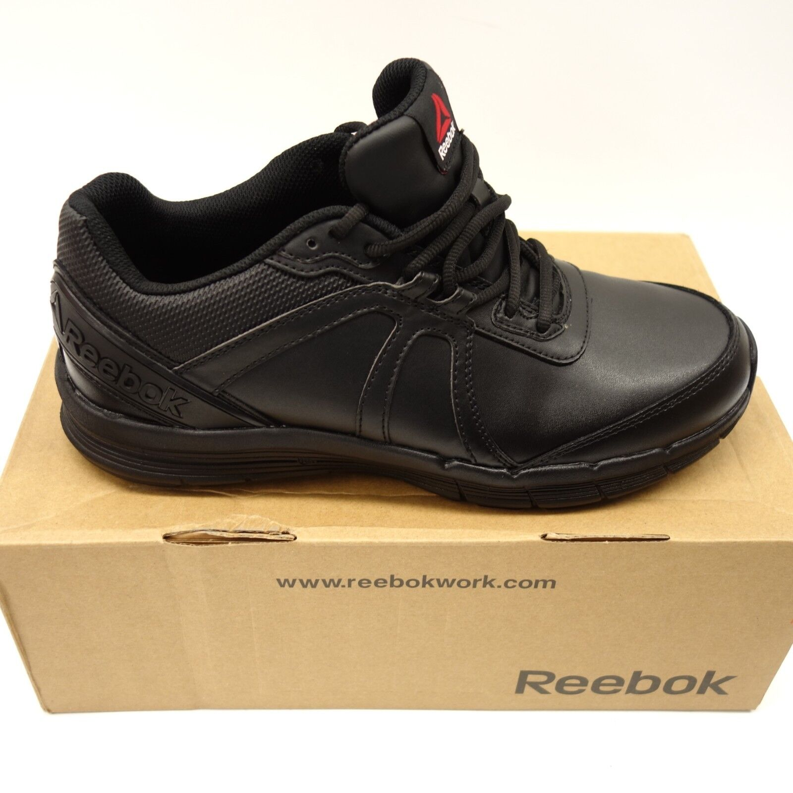 Reebok Mens Guide Work RB3502 Work Athletic Steel Toe Oxford Size 10M