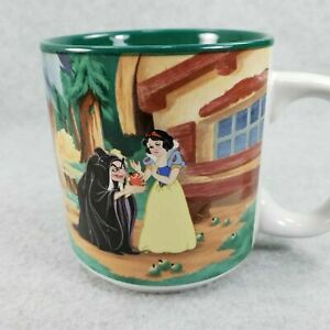 Disney-Snow-White-and-the-Seven-Dwarves-Dwarfs-Wicked-Witch-Mug-1996-Vintage