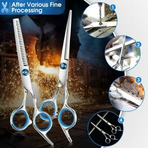 6inch Hair Cutting Scissors Salon Thinning Hairdressing for Professional Barber