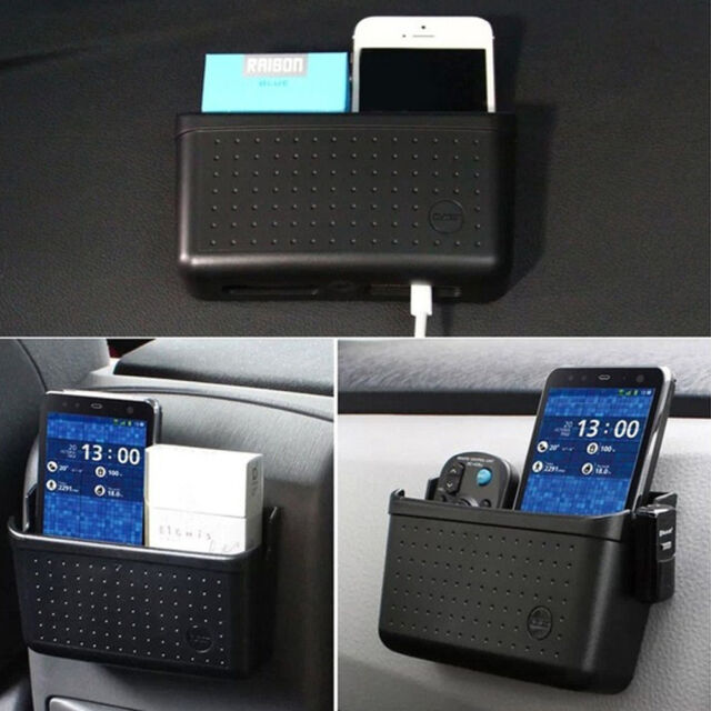 For Phone Coin Accessories Car Large Box Storage Organizer Holder New