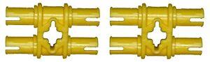 Missing Lego Brick 32136 Yellow x 2 Technic Pin 3L Double