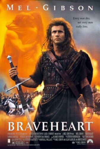 Braveheart Movie Poster 24inx36in