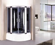 Shower Enclosure Hydro Massage Jets & Steam Spa Sauna by Kokss 8002-A BLUETOOTH
