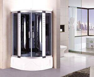 Cabina Sauna Vapor : Kokss bluetooth chorros de hidromasaje cabina de ducha vapor spa