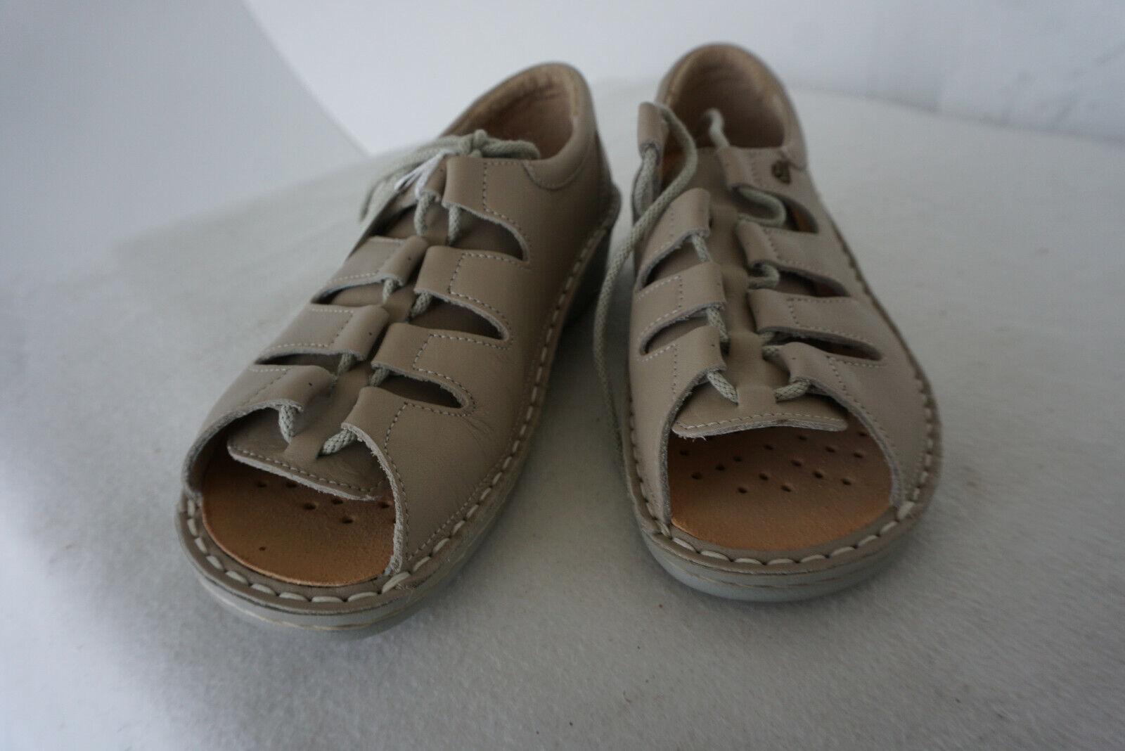 Finn Comfort Abano shoes summer women sandals m tanks Beige gr.36
