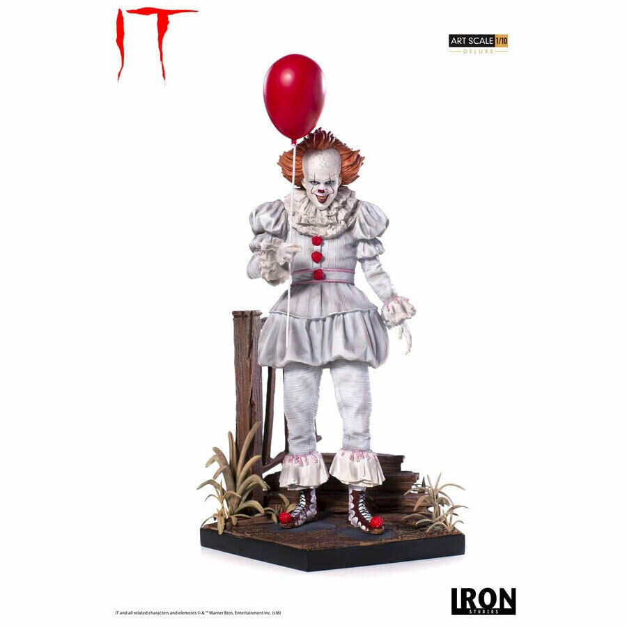 IT (2017) -  Pennywise Deluxe 1 10th Scale Statue  vendite calde