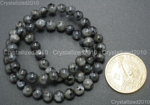 Natural Larvikite Labradorite Gemstone Round Beads 16/'/' 4mm 6mm 8mm 10mm 12mm