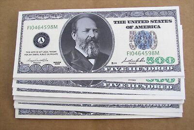 Novelty Whole Lot 500 Dollar Bills