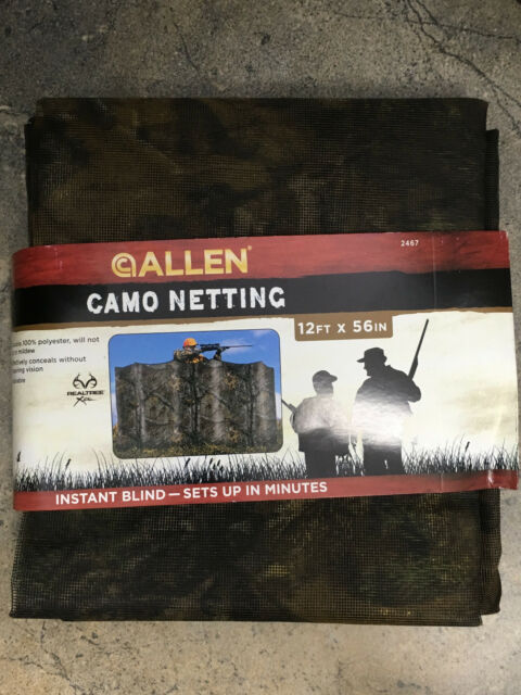 Buy Allen Nylon Realtree Ap Camouflage Netting 56 Inches X 12 Feet