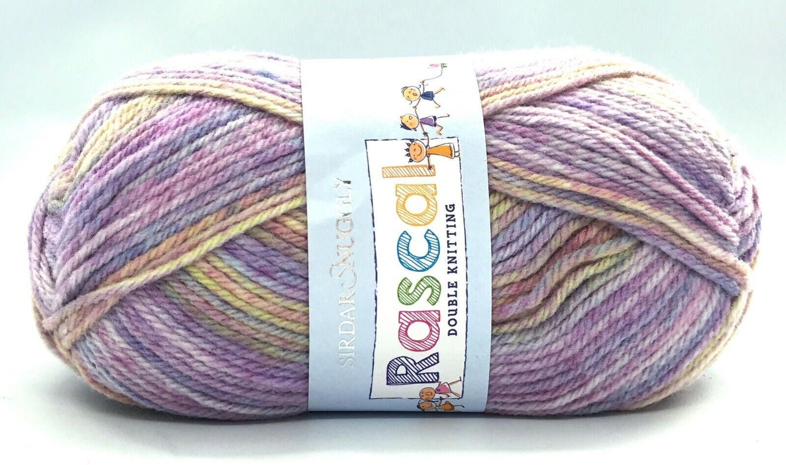 4 Skeins of Sirdar Snuggly Spots Double Knitting Yarn Color #433