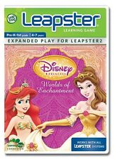 LEAPFROG DISNEY WORLD OF ENCHANTMENT LEARNING GAME NEW IN BOX & FREE SHIPPING