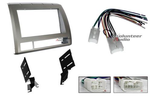 Toyota Tacoma Double Din Car Stereo Radio Installation Dash Mount Kit Harrness