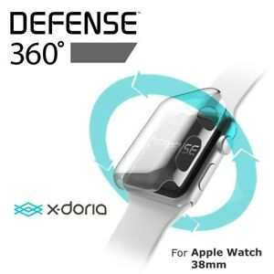 newest collection 3e594 da9ba Details about X-Doria Defense 360 Apple Watch Screen Face Protector - LIKE  NEW™