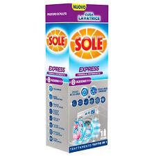 Sole Cura Lavatrice Express Igienizzante Liquido Lavatrice 250ml•