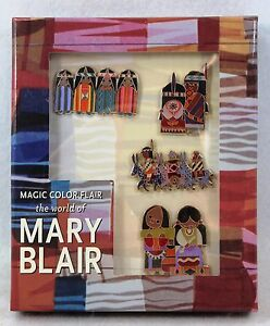 Walt Disney Family Museum Boxed Pin Set Mary Blair South American Mural