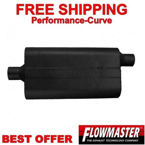 "Flowmaster 50 Series Delta Flow Muffler 409 Stainless 2.25/"" C//O 842452"