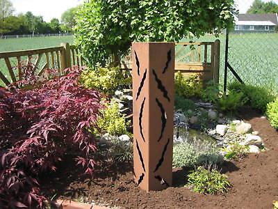 RS21 Rost Säule Säulen Rostsäulen Garten Deko Rostsäule Edelrost Rostdeko