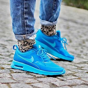 Details about Nike Air Max Thea clear water light blue lacquer 599409 406 Wmn Sz 6