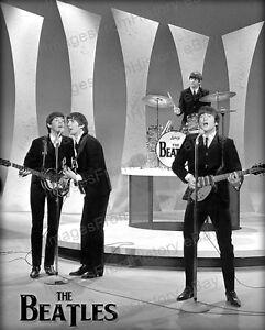 8x10 Print Beatles John Lennon Ringo Starr 1967 Ed Sullivan Show 98720 Ebay