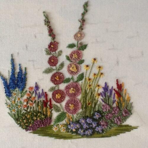 Kit de bordado de jardinería con hilos-Para Principiantes