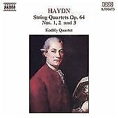 Haydn-String-Quartets-Op-64-1-3-Kodaly-Quartet-Haydn-Joseph-Audio-CD-New