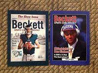 Ben Simmons / Carson Wentz Ed/1000 Rc 2016 National Beckett Covers 4x6 Panini
