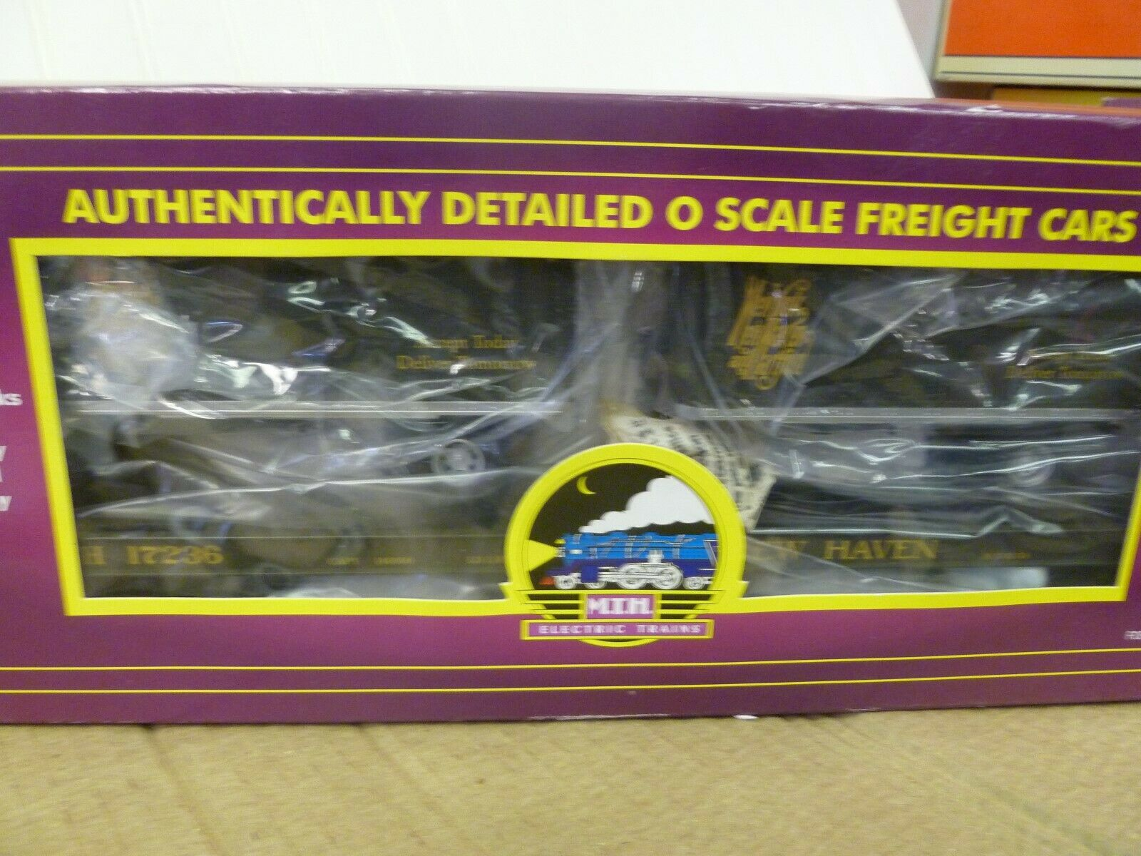 O Scale- MTH -Lot No. 29- New England Flat    2-20' Trailers - in Box