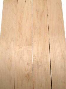 2x Maple Board Hard Maple Flower 94x11/12cm 23mm