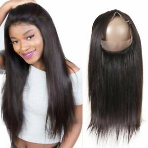 Lace-frontal-closure-bresilienne-lisse-360-lace-frontal-Cheveux-naturel-humains