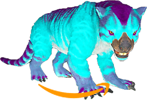 Ark-Survival-Evolved-PC-PVE-NEW-Cotton-Candy-Collection-THYLACOLEO