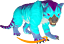 Ark-Survival-Evolved-PC-PVE-NEW-Cotton-Candy-Collection-THYLACOLEO miniature 1
